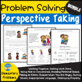Problem Solving Social Skills and Perspectives Activities Bundle for Elementary