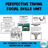Perspective Taking Social Skills Unit   Social Emotional Learning