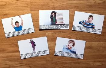 Perspective Taking Think and Chat Cards (w/Real Photos)
