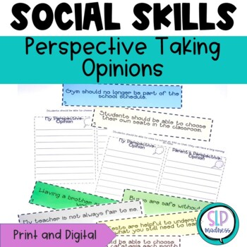 Perspective Taking, Thinking Socially, Social Skills and Opinions