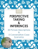 Perspective Taking and Inferences worksheet - digital resource, fillable box