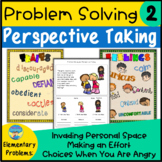 Problem Solving Social Skills and Perspectives Activities 2 for Elementary