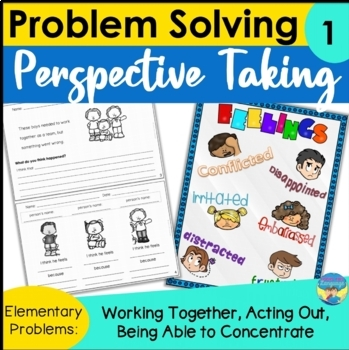 Social Skills Activities: Problem Solving with Perspective Taking Elementary 1