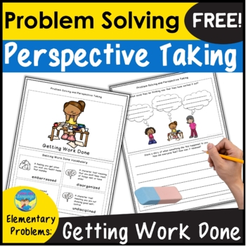 Social Skills Activities | Problem Solving | Taking Perspectives Elementary