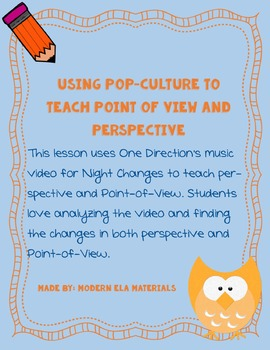 Perspective and Point of View Activator/Warm Up