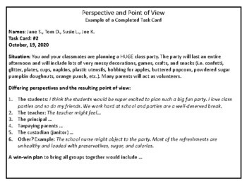 School Issues: Civics, Perspective And Point Of View