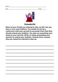Persuade Me - worksheet
