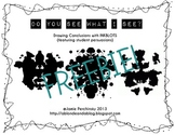 Persuading & Drawing Conclusions with inkblots FREEBIE!!
