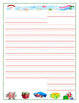 Persuading Santa Template and Letter
