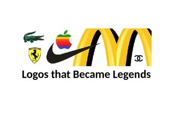 Persuading with Visuals-Logos that Became Legends