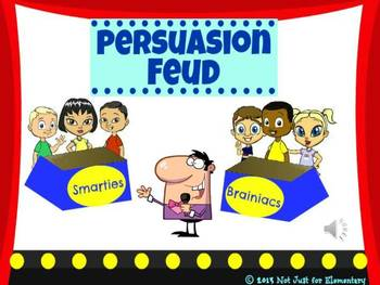 Persuasion Feud Powerpoint Game