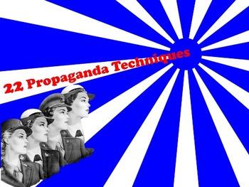 Persuasion II: Propaganda & Faulty Logic Types