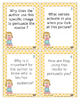 Persuasion Media Texts Author's Purpose Cards with Questions