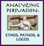 Persuasion Techniques; Analyze an Argument; Ethos, Pathos and Logos.