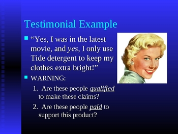 Persuasion Techniques PPT