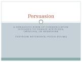 Persuasion in Speaking or Writing
