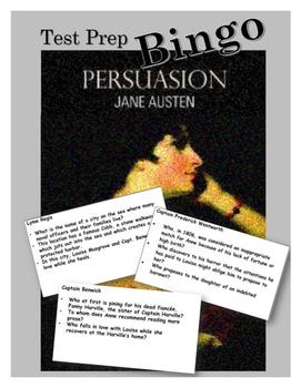 Persuasion test prep BINGO