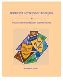 Persuasive Advertising Techniques Readers Theatre Scripts