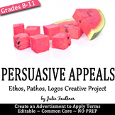 Persuasive/Rhetorical Appeals (Ethos Pathos Logos) Project Activity, Creative