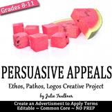 Persuasive or Rhetorical Appeals (Ethos Pathos Logos) Project Activity