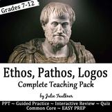 Persuasive Appeals Rhetorical Devices (Ethos, Pathos, Logos) Lesson