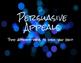 Persuasive Appeals Notes Presentation