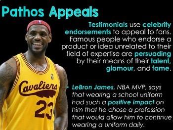 Ethos, Logos, Pathos