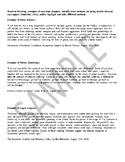 Rhetorical Analysis (Ethos, Pathos, Logos)
