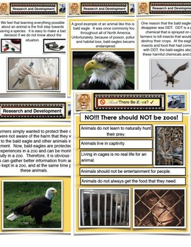 Persuasive Argument - Persuasive Writing Should There Be Zoos PDF