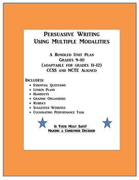 Persuasive (Argument) Writing