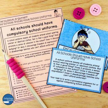 Persuasive Writing Prompts Bundle