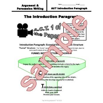Persuasive Argument Writing Unit