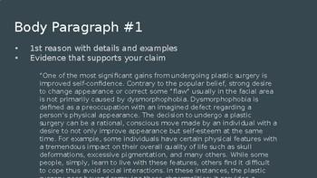 Persuasive/Argumentative Essay PowerPoint