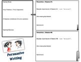 Persuasive / Argumentative Writing Graphic Organizer