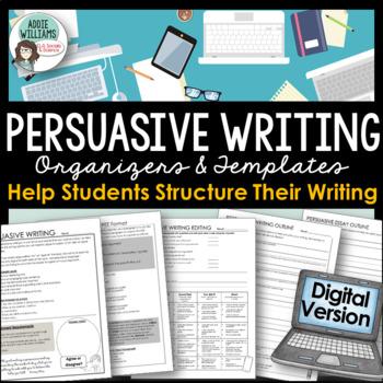 Persuasive Writing - Digital / Google Drive Version