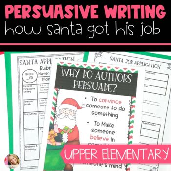 Christmas Santa Writing