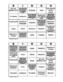 Persuasive Devices Bingo Activity