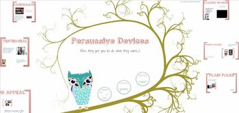 Persuasive Devices and Logical Fallacy Lessons and Materials - Customize!