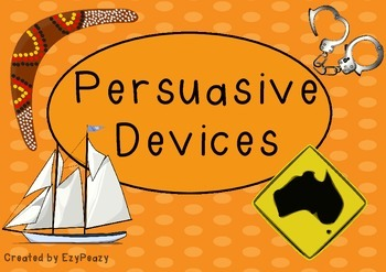 Persuasive Devices of an Exposition