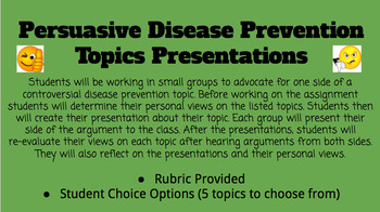 Controversial Disease Prevention Debate Topics