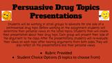 Controversial Drug Debate Topics Presentation