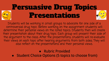 interesting topics for presentation in class