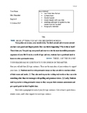 Persuasive Essay - 5 paragraph MODEL