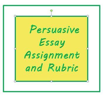 persuasive essay writing rubrics essay academic service