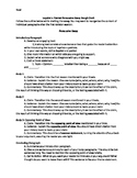 Persuasive Essay Detailed Outline
