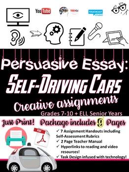 Persuasive Essay - Engaging Pre-Essay Writing Tasks