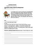 Argument Writing (Persuasive Essay) Follow-Up Assignment