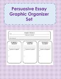Persuasive Essay Graphic Organizer Set