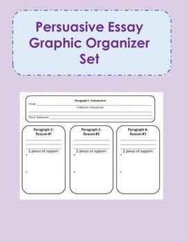 persuasive essay graphic organizer middle school