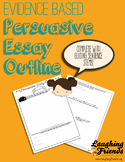 Persuasive & Opinion Essay Graphic Organizer (CCSS Aligned)